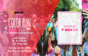 Color Run 2018 - Sarjapur