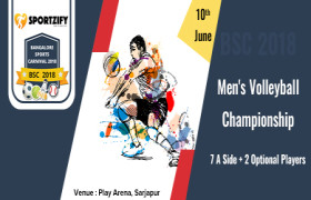 Men's Volleyball Championship - BSC2018