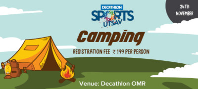 Camp Night at Decathlon OMR