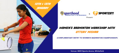 Women's Badminton Workshop with Uttsav Mishra
