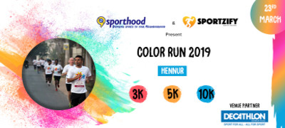 Color Run 2019 ( Hennur )