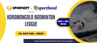 Koramangala Badminton League - Kids & Adults