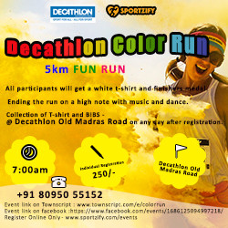 Decathlon Color Run