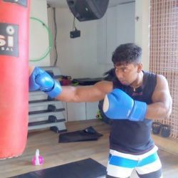 East Action, West Action Of 'Our Fitness Fighter – Binu Joseph'
