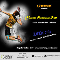 Weekend Badminton Bash July 'Jump N Smash' Badminton Club