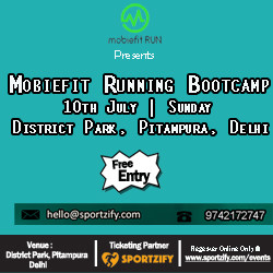 Mobiefit Running Bootcamp ,Pitampura New Delhi