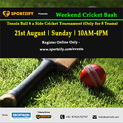 Weekend Cricket Bash August