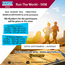 Run The World 5K - Decathlon OMR