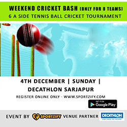 Weekend Cricket Bash: December