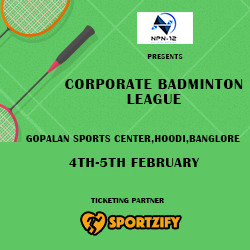 CORPORATE BADMINTON LEAGUE