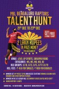 PBL Bengaluru Raptors Talent Hunt